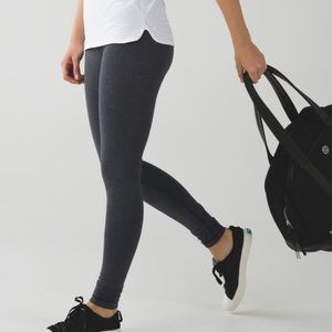 Lululemon |  Wunder Under Pant Roll Down Cotton